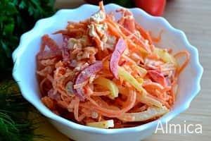 салат корейская курочка