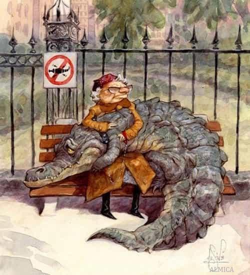 Peter De Seve крокодиловы слёзы
