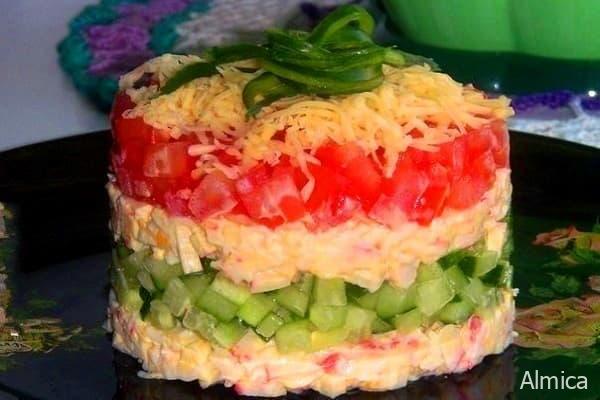 цветовое шоу - салат