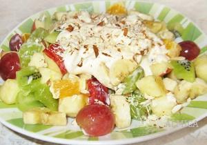 как приготовить салат фруктовый ассорти