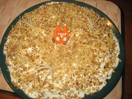 приготовить салат королевский визит