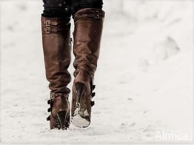 обувь и уход за ней зимой
