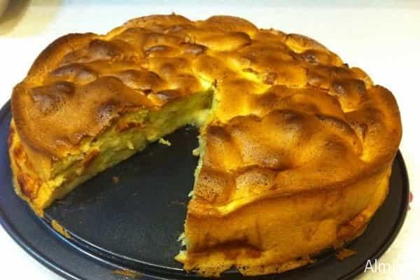 пирог шарлотка с тыквой