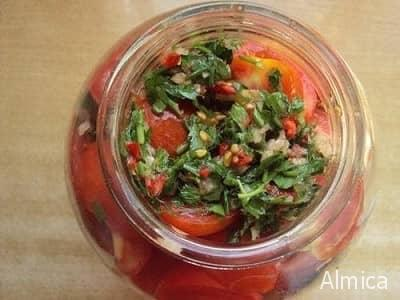 вкусные помидоры по корейски на зиму