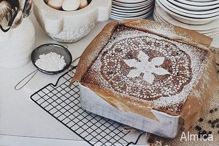 быстрый кофейный пирог