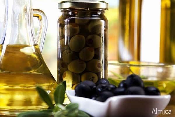 маслины для салата с печеной тыквой