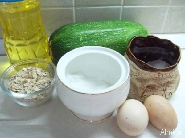 кабачковые оладьи с геркулесом