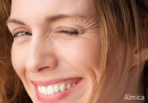 маскируем морщины на лице