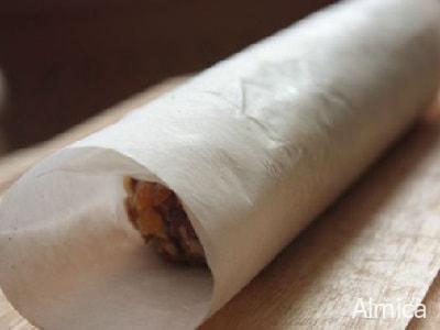 колбаски из сухофруктов и орехов