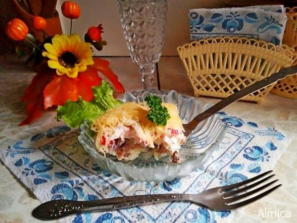 салат нежная рыбонька