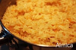 рис в апельсиновом соке