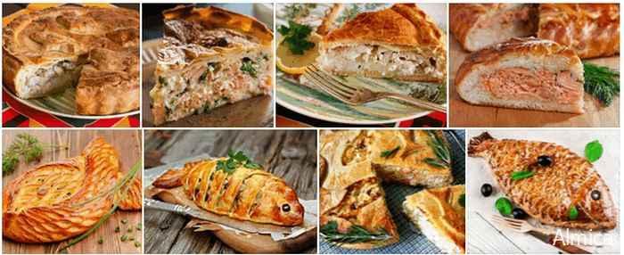 пирог из рыбы