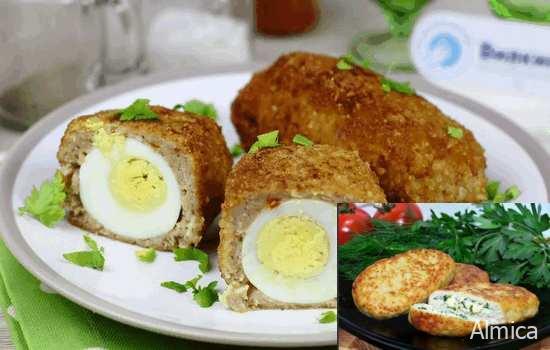 Готовим яичные котлеты - быстро и со вкусом